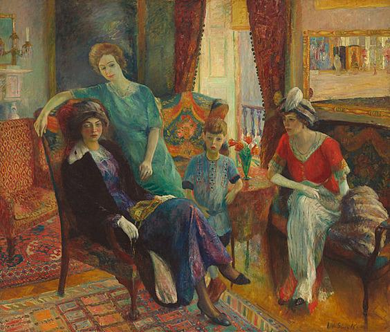 Family Group de William James Glackens