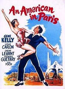 Un americà a París (melodia) de George Gershwin