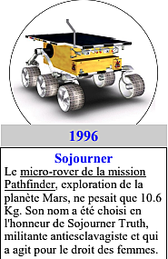 1996: Sojourner