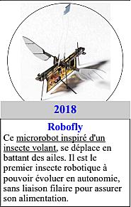2018 : Robofly