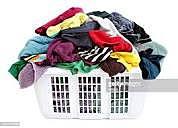 Luego a las 6 nos arreglamos para lavar la ropa.