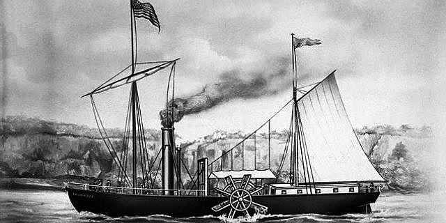 Primeros Modelos De Navegación a Vapor