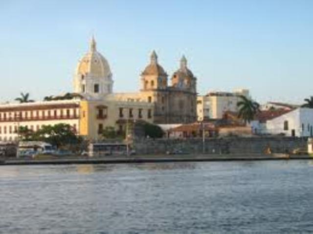 My first trip to Cartagena