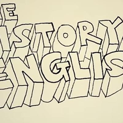 History of English timeline