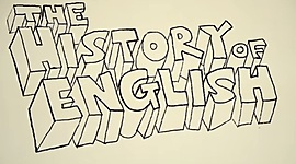 History of English timeline