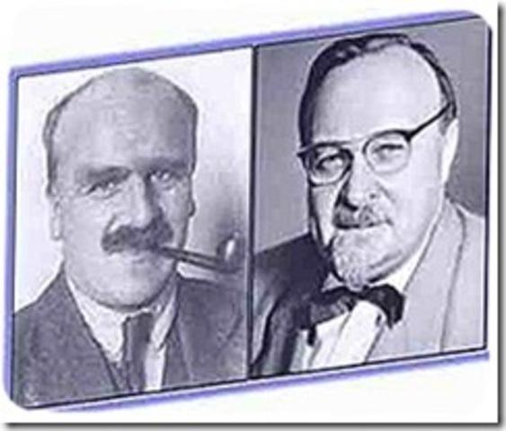 (1920's)- Oparin's Hypothesis
