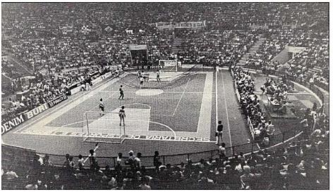 La primera Copa Mundial de fútbol de salón