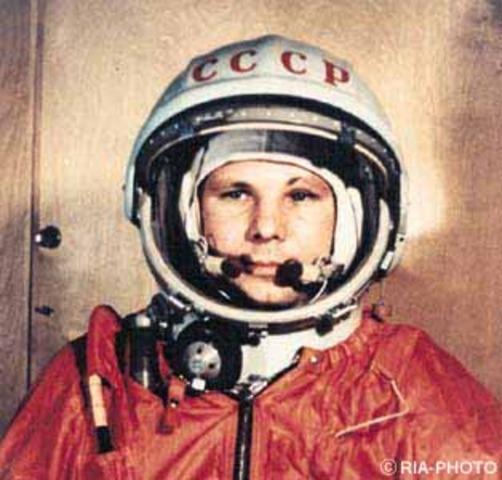 Yuri Gagarin (1a persona a l'espai)