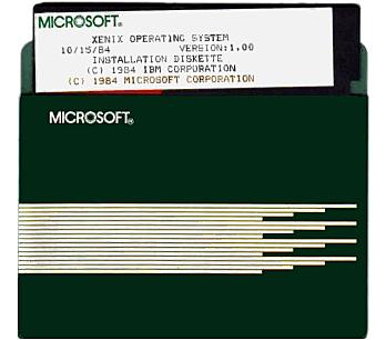 UNIX (Xenix de Microsoft)