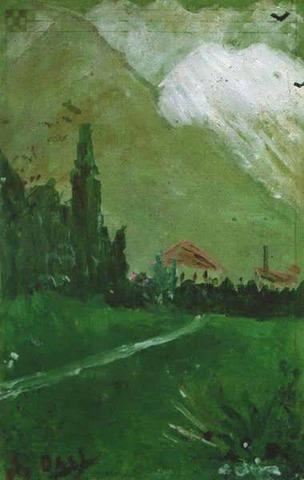 "Pintó ""Landscape Near Figueras"""