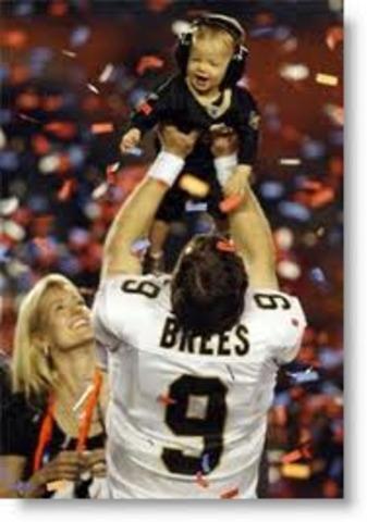 Baylen (Drew Brees Son) is born