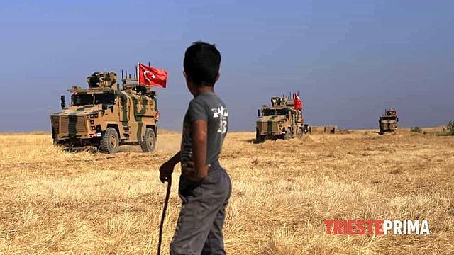 L'esercito turco invade il Nord della Siria
