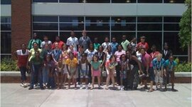 UAB RMWP Middle School Summer Writing Camp timeline