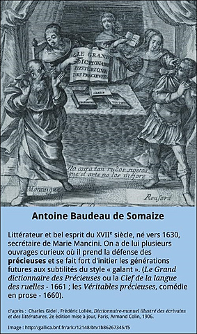 Antoine Baudeau de Somaize