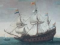 Komen de overgebleven schepen bij texel aan
