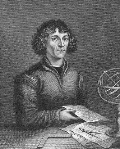 Geleerde Copernicus publiceert zijn opvatting