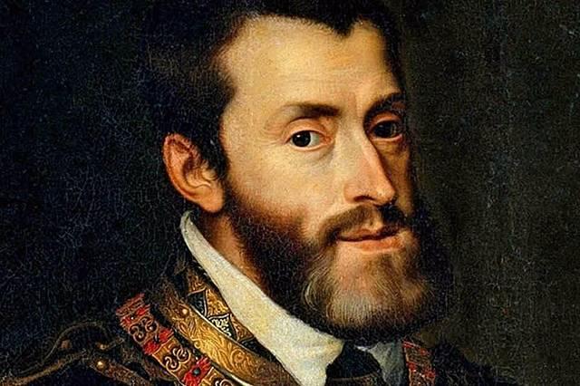 Karel V wordt Heer der Nederlanden