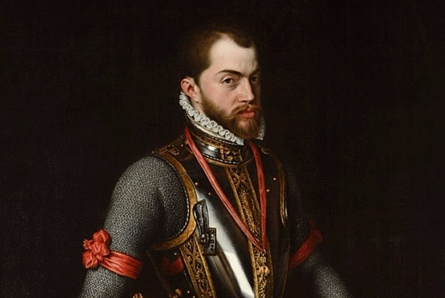 Filips II volgt Karel op