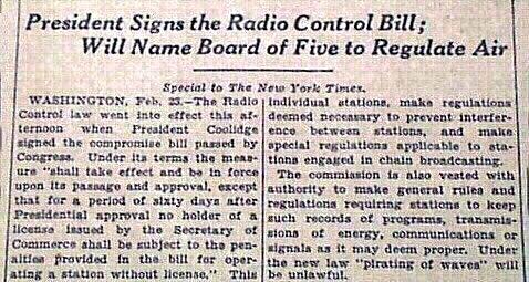 The Radio Act