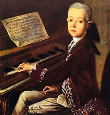 Primera visita a Viena y primera ópera con doce años: La finta semplice