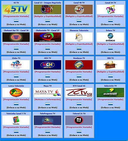 Ver Canales Hondureños De Televisión por Internet