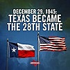 Texas is Officially the 28th