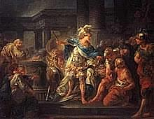 Death of Alexander the Great.