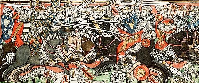 La batalla de Vouille.