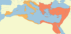 Els bizantins derroten als vàndals al Nord d' Àfrica.