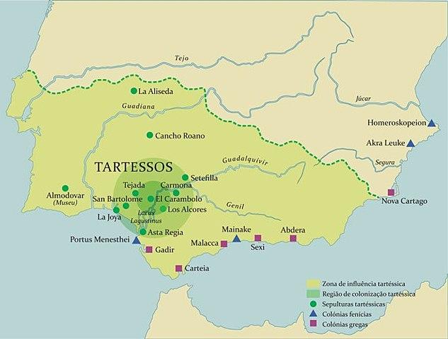 Pueblos de Iberia: Tartessos.