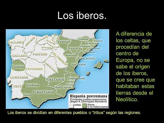 Pueblos de Iberia: Iberos.