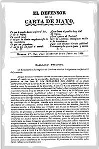 Carta de Mayo
