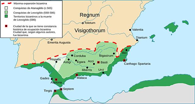 La provincia de Spania.