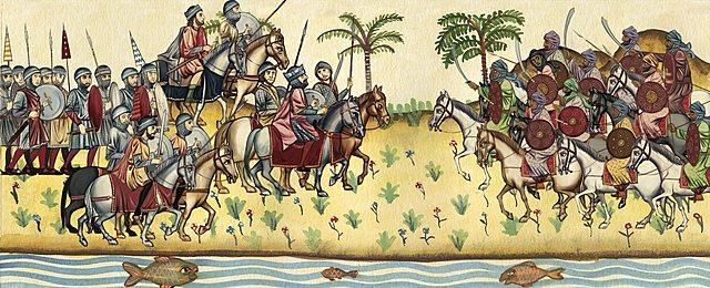Conquista árabe de Hispania. Al-Andalus.