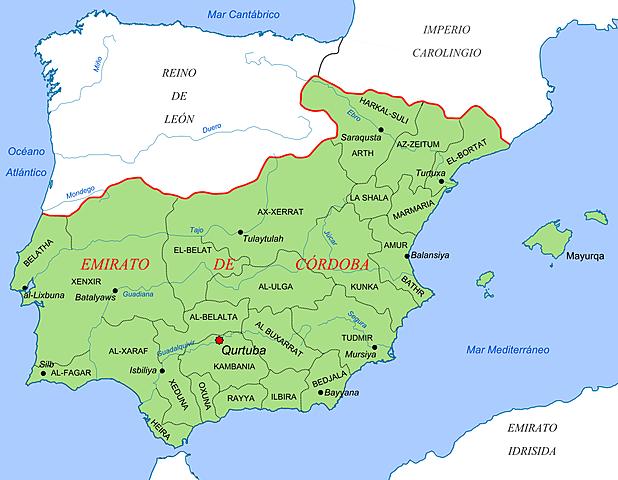 Emirato de Córdoba.