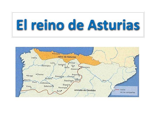 Formación del Reino de Asturias.