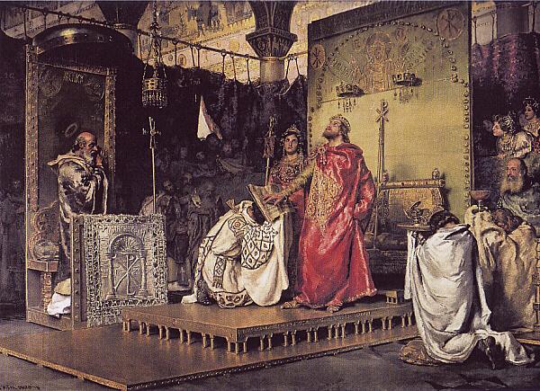 Els visigots funden el regne de Toledo