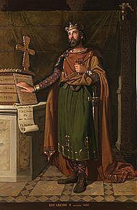 El rei Recared es converteix al cristianisme