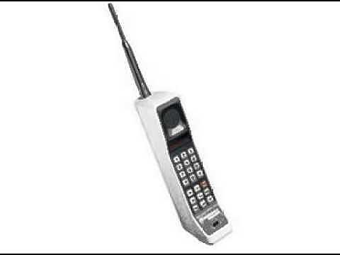 celular DynaTAC 8000X, de Motorola