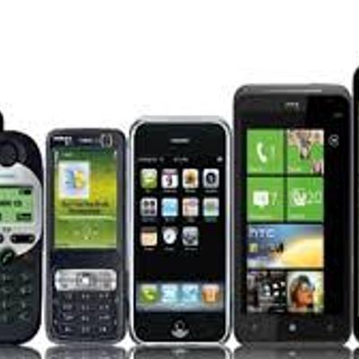 Evolución del Teléfono Celular timeline