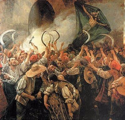 Corpus de Sang--Inici de la Guerra dels Segadors.