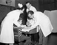 polio vaccine developed