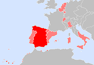 Se incorporan territorios a la Corona de Castilla.