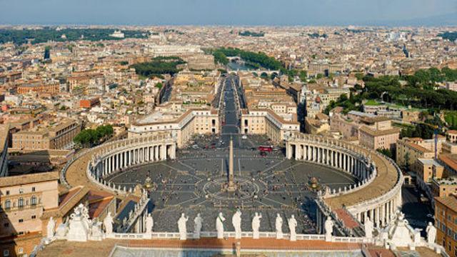 Columnata i plaça de Sant Pere del Vatica