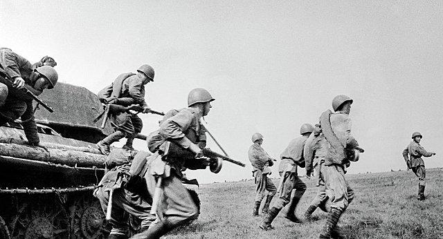 la segunda guerra mundial,