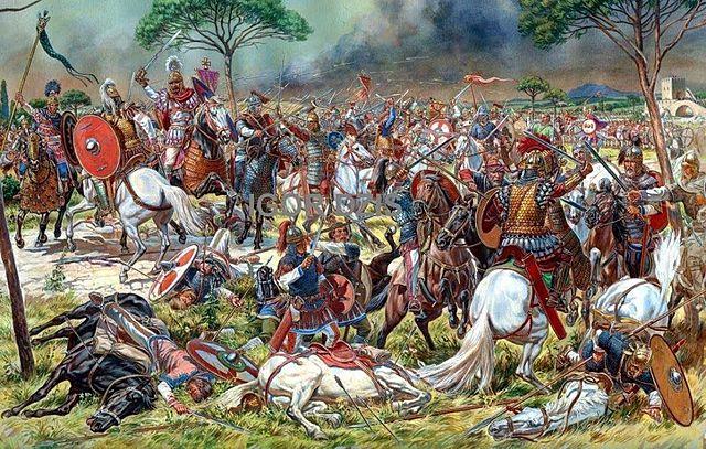 Belisari (general bizantí) destrueix el regne vàndal del nord d'africa