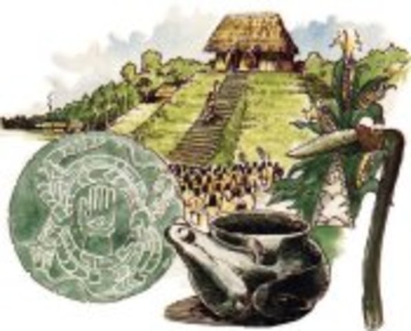 Mississippian Indians enter Tennessee.