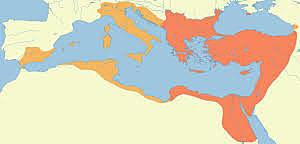 527-565 REGNAT DE JUSTINIA A L'IMPERI BIZENTI