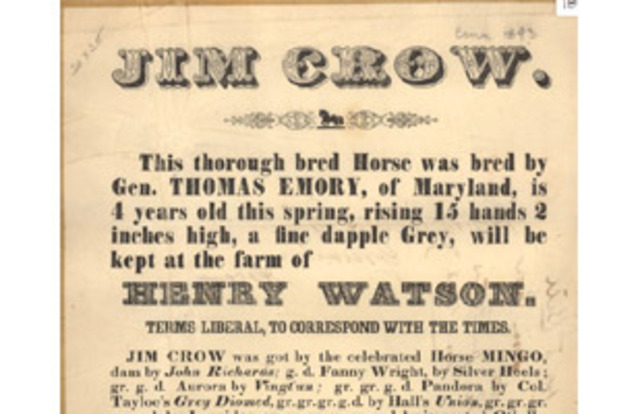 Jim Crow Legislation