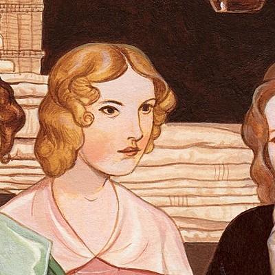 The Chronological Order of Brontë Sisters' Books timeline